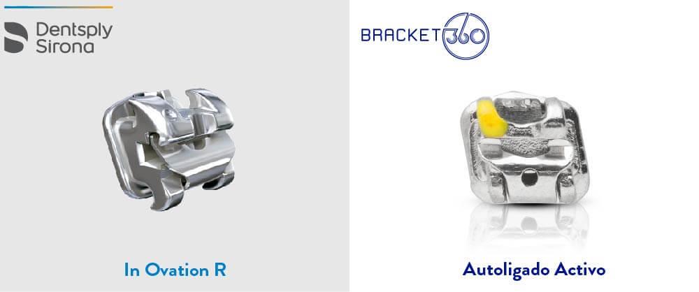 alternativas bracket 360 a productos de dentsply brackets