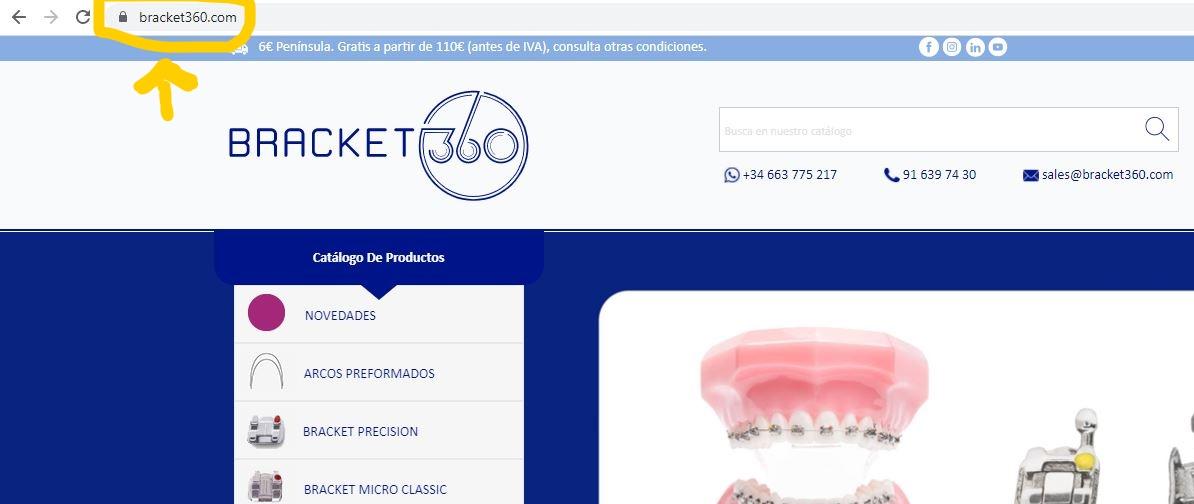comprar productos de ortodoncia online de forma segura